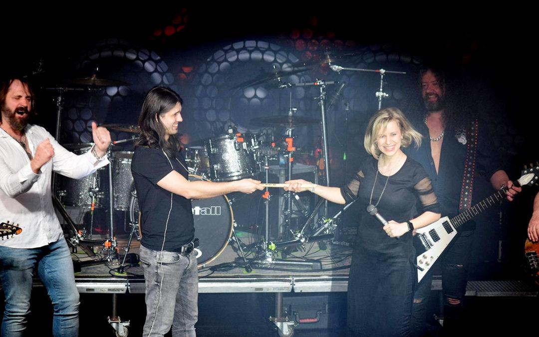 Manželská výměna za bicími v Limetalu